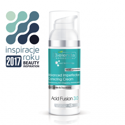 Bielenda ACID FUSION 3.0 ADVANCED IMPERFECTION CORRECTING CREAM Normalizujący krem korygujący