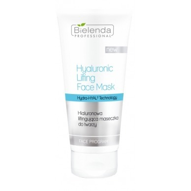 Bielenda HYALURONIC LIFTING FACE MASK Hialuronowa maseczka liftingująca do twarzy 175ml