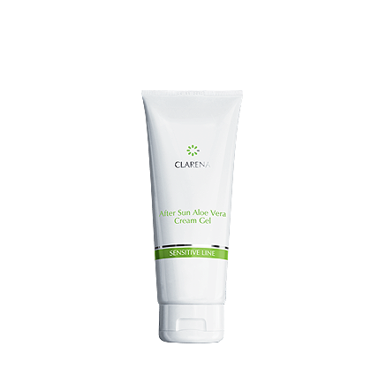 CLARENA After Sun Aloe Vera Cream-Gel Kremożel regenerujący skórę po opalaniu 50 ml