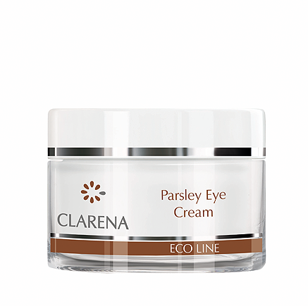 CLARENA Parsley Eye Cream Nawilżający krem pod oczy z pietruszką 15 ml
