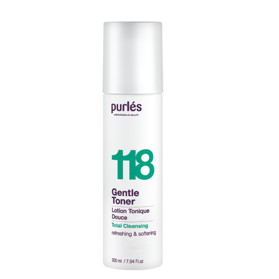 Purles 118 Gentle Toner Delikatny Tonik 200 ml